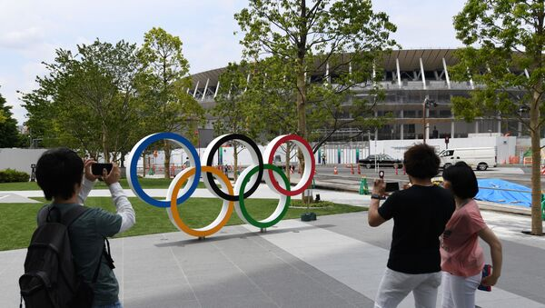 Олимпијски стадион у Токију. - Sputnik Србија