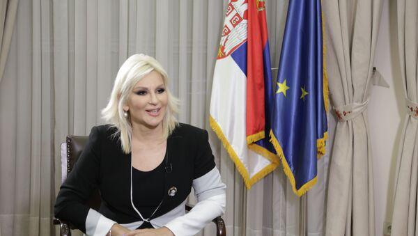 Zorana Mihajlović - Sputnik Srbija