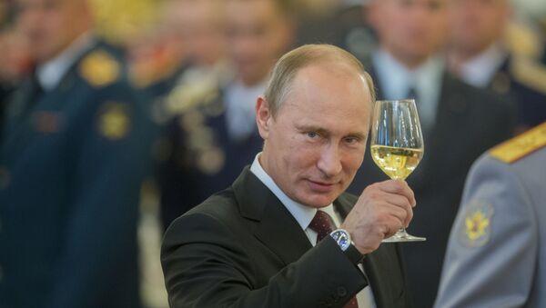 Председник Русије Владимир Путин на свечаном пријему у Кремљу - Sputnik Србија