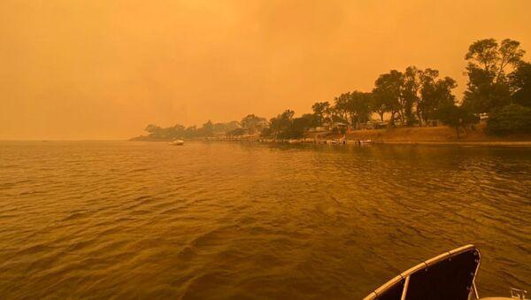 Dim od požara u Australiji - Sputnik Srbija