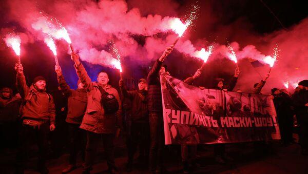 Протести бандероваца у Кијеву - Sputnik Србија