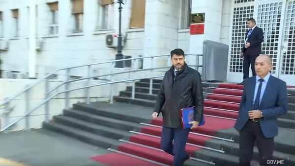 Ambasador Srbije u Crnoj Gori Vladimir Božović - Sputnik Srbija
