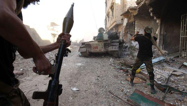 Operacija Libijske nacionalne armije protiv DAEŠ-a u Bengaziju  - Sputnik Srbija