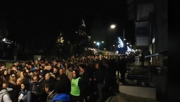 Литија у Херцег Новом  - Sputnik Србија