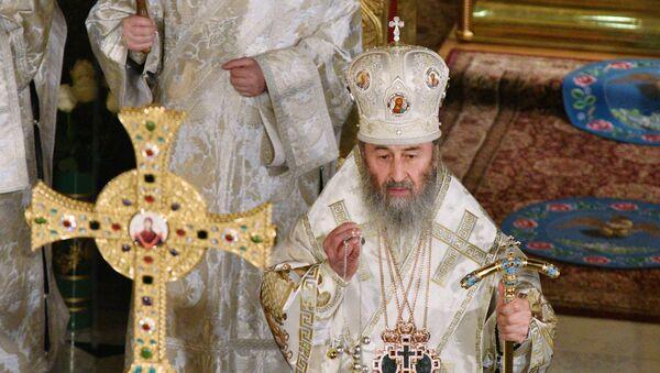 Poglavar Ukrajinske pravoslavne crkve Moskovske patrijaršije, mitropolit kijevski Onufrij - Sputnik Srbija