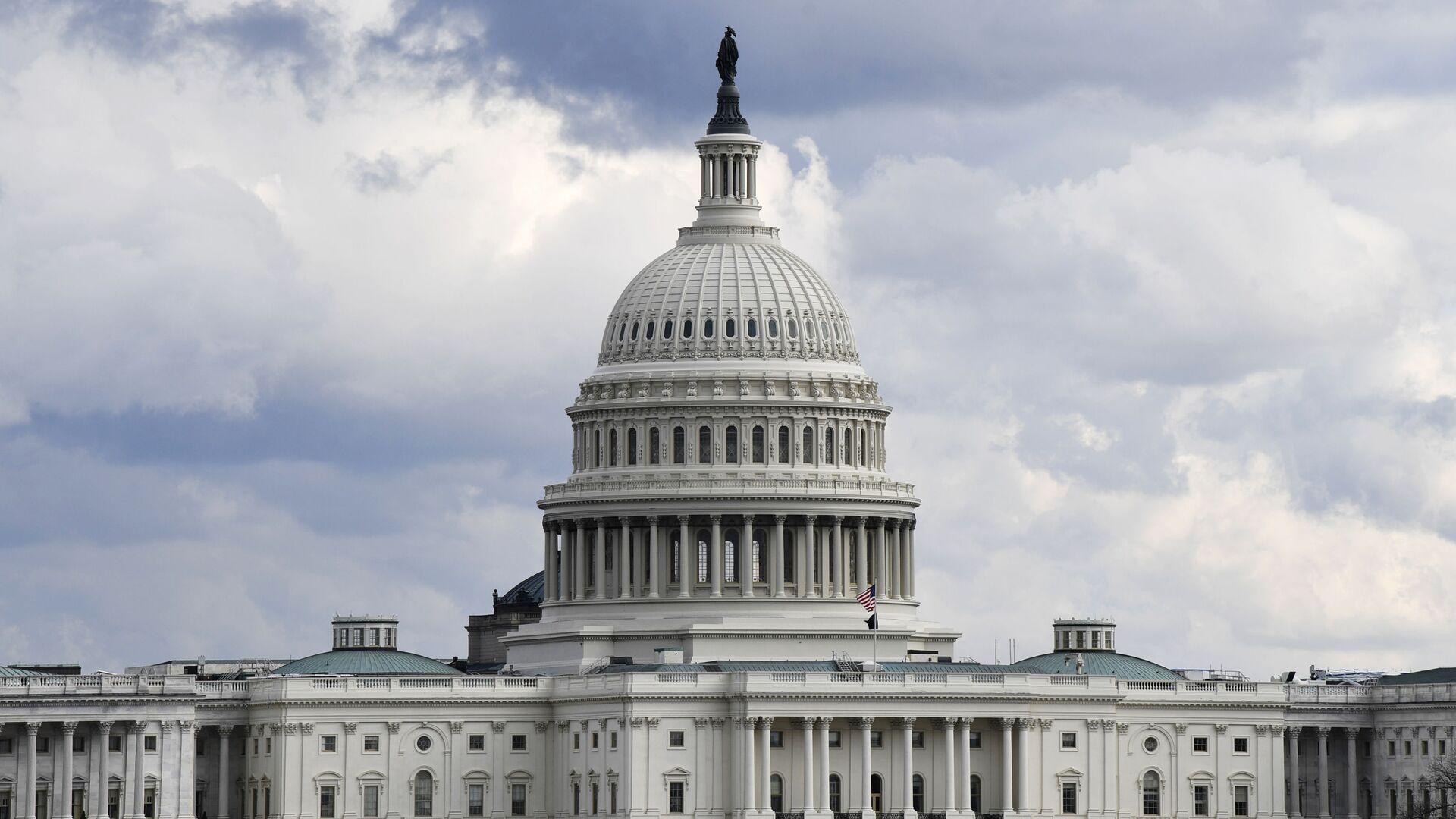 Зграда америчког Конгреса у Вашингтону - Sputnik Србија, 1920, 30.08.2021