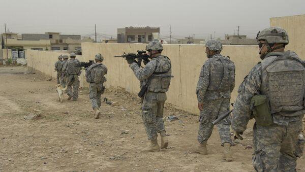 Američki vojnici u Iraku - Sputnik Srbija