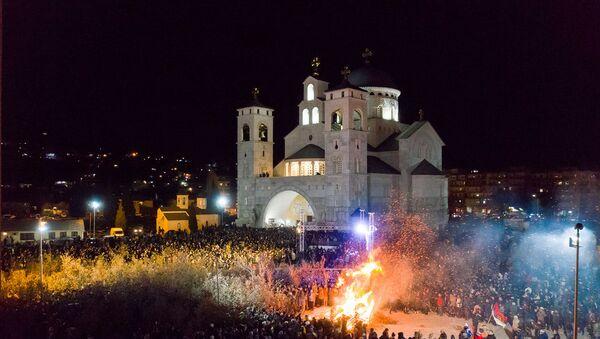 Podgorica za Badnje veče  - Sputnik Srbija