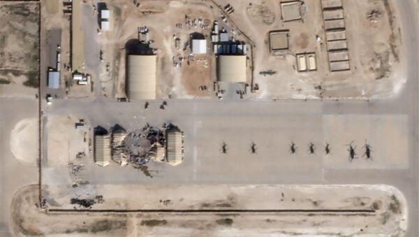 Фотографије америчке војне базе у Ираку коју је ракетирао Иран - Sputnik Србија