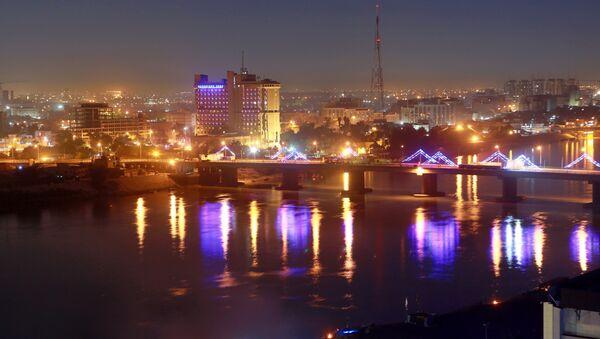 Зелена зона у Багдаду у којој се налазе зграде владе и стране амбасаде - Sputnik Србија