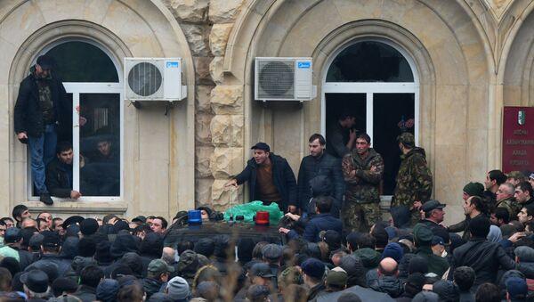 Protesti u Abhaziji  - Sputnik Srbija