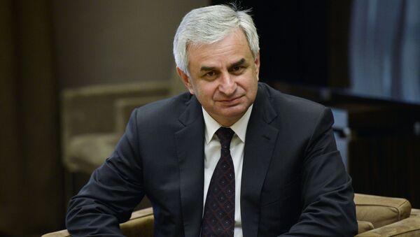 Predsednik Abhazije Raul Hadžimba - Sputnik Srbija