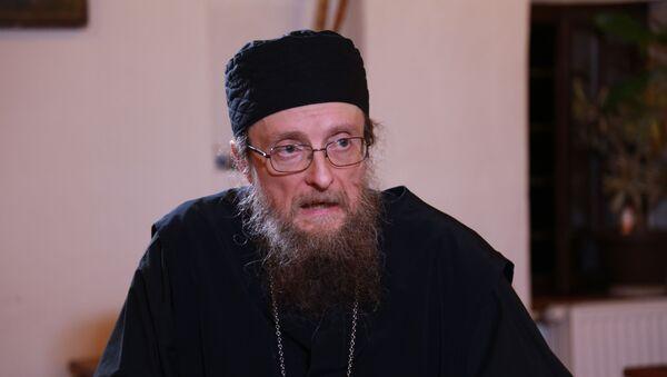 Sava Janjić, iguman manastira Visoki Dečani - Sputnik Srbija