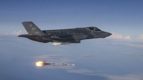 Амерички војни авион Ф-35А Лајтнинг II  - Sputnik Србија