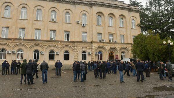 Protesti protiv predsednika u Abhaziji - Sputnik Srbija