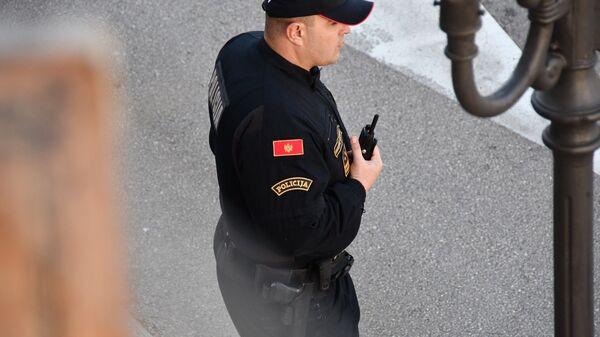 Полиција,  Црна Гора - Sputnik Србија