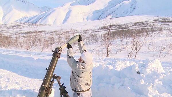 Granatiranje lavina na Kamčatki - Sputnik Srbija