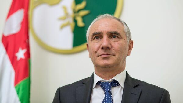 Vršilac dužnosti predsednika Valerij Bganba - Sputnik Srbija