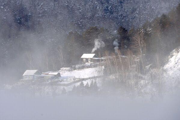 Kuća na obali reke Jenisej. - Sputnik Srbija