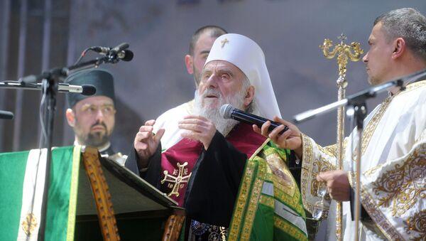 Патријарх Иринеј - Sputnik Србија