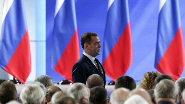 Bivši premijer Rusije Dmitrij Medvedev - Sputnik Srbija