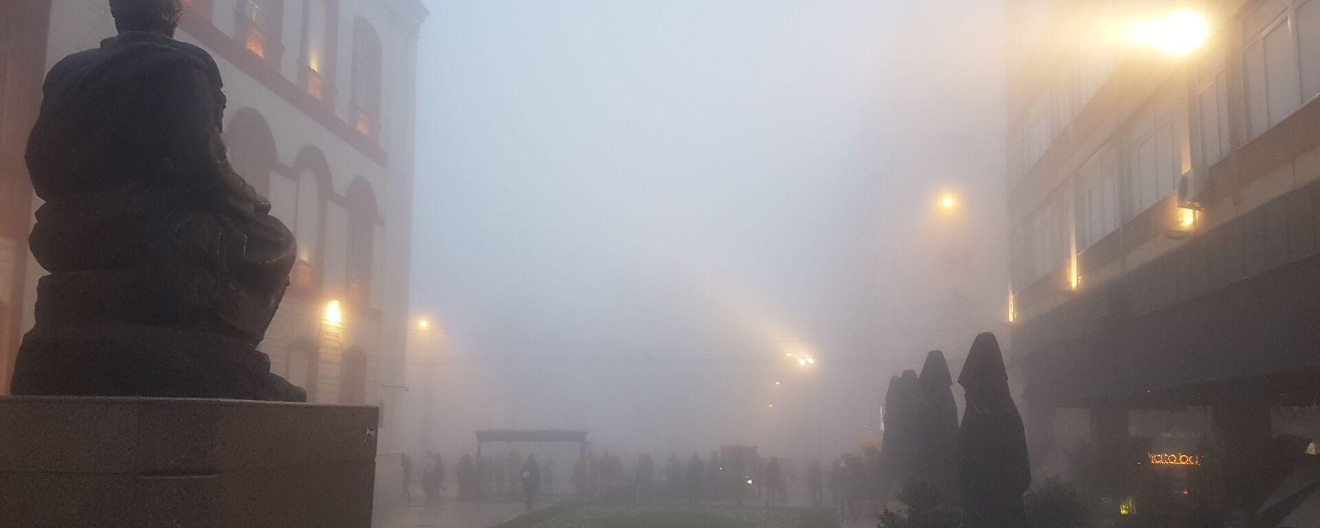 Magla u Beogradu - Sputnik Srbija, 1920, 08.08.2021