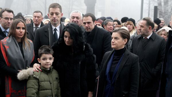 Pomen Oliveru Ivanoviću - Sputnik Srbija