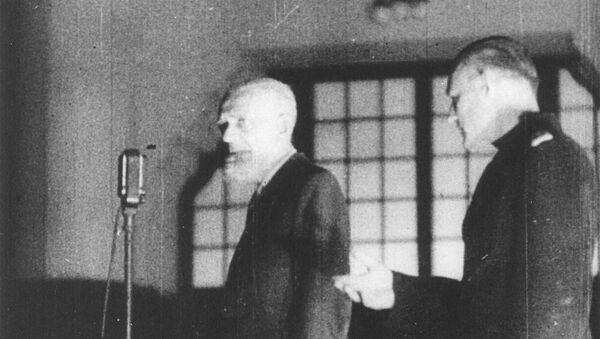 Rupnik na suđenju 1946. - Sputnik Srbija