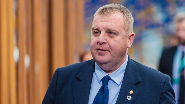 Ministar odbrane Bugarske Krasimir Karakačanov - Sputnik Srbija