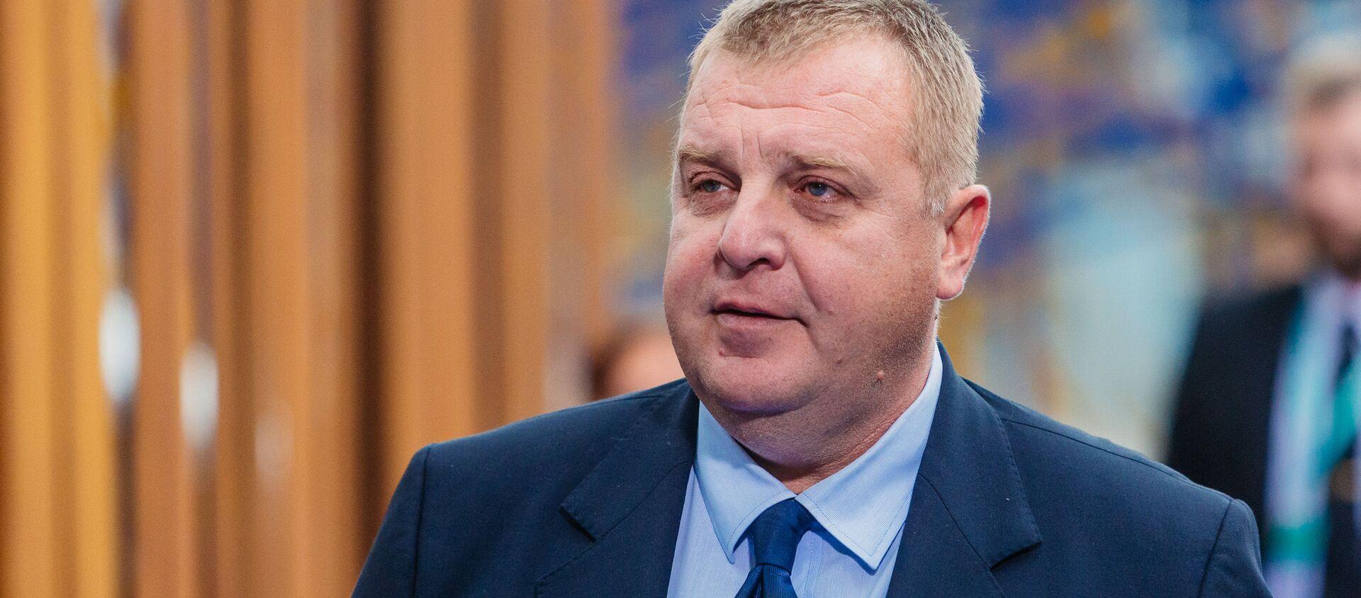 Министар одбране Бугарске Красимир Каракачанов - Sputnik Србија, 1920, 04.02.2021