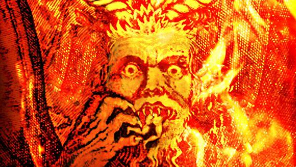 Интерпретација фрагмената из Дантеовог Пакла Сандра Ботичелија (1444-1510). - Sputnik Србија
