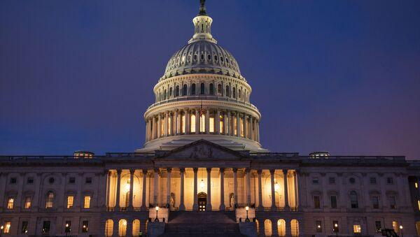 Зграда америчког Конгреса у Вашингтону - Sputnik Србија