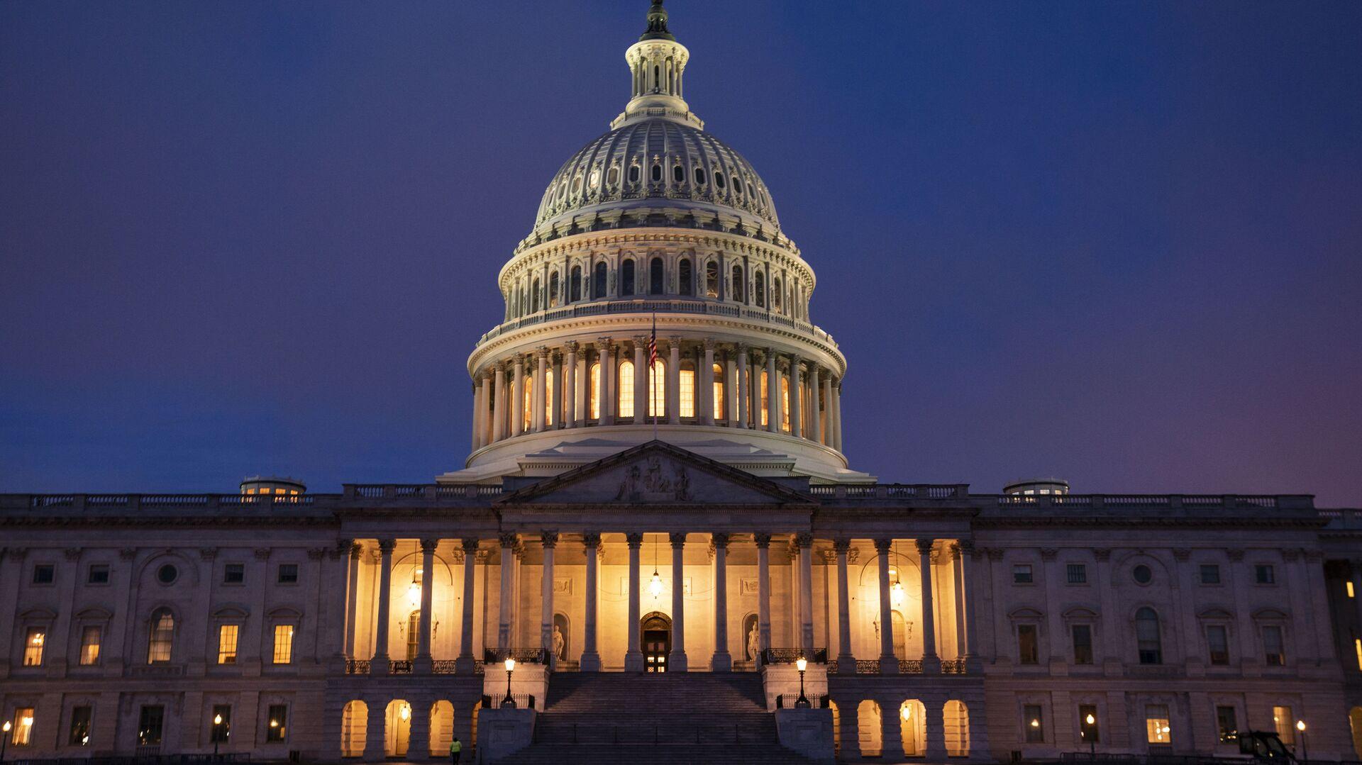 Zgrada američkog Kongresa u Vašingtonu - Sputnik Srbija, 1920, 13.02.2021