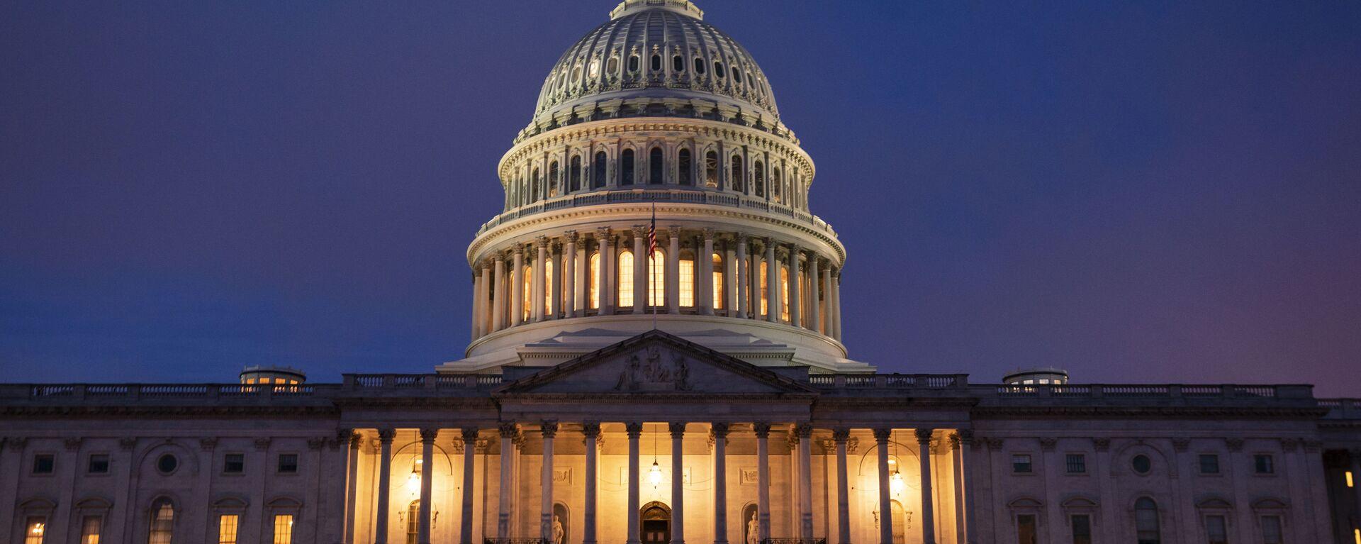 Zgrada američkog Kongresa u Vašingtonu - Sputnik Srbija, 1920, 06.10.2021