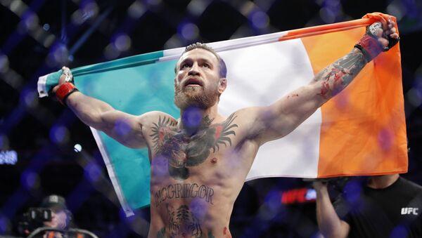 MMA borac Konor Makgregor nakon pobede nad Donaldom Kaubojem Seronom u Las Vegasu - Sputnik Srbija
