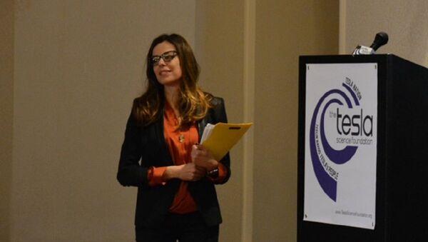 Катарина Радивојевић организовала осмислила и водила панел на Тесла конференцији - Sputnik Србија