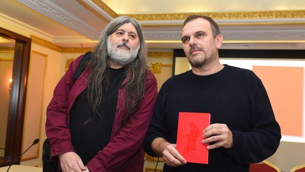 Teofil Pančić i Saša Ilić - Sputnik Srbija
