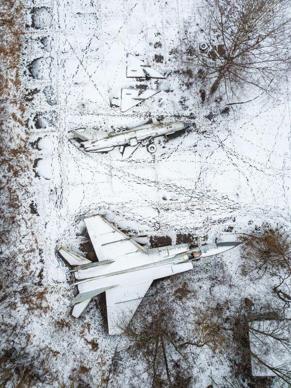 Напуштени авиони за паркирање у Тверској области - Sputnik Србија