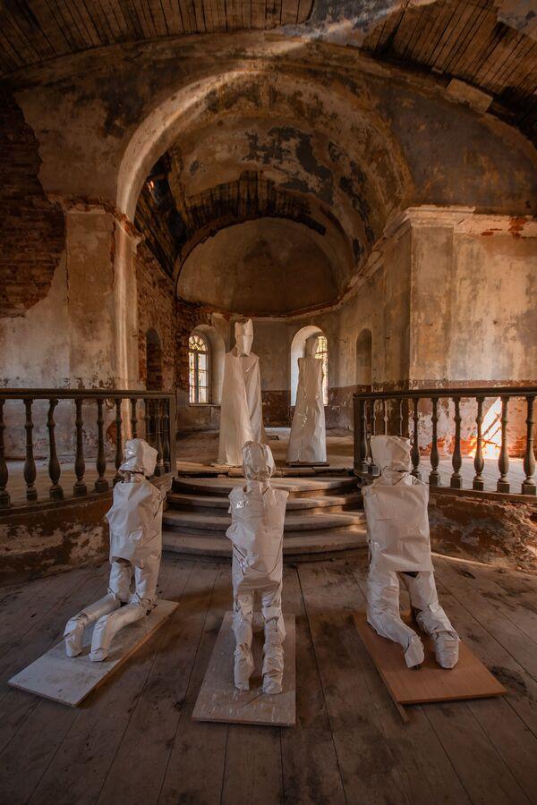 Напуштена аветињска црква у Летонији - Sputnik Србија