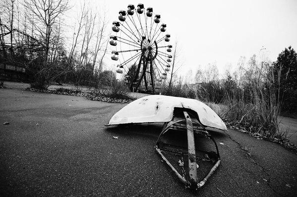 Забавни парк у Припјату у Украјини - Sputnik Србија