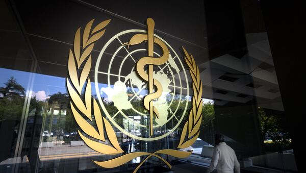 Улаз у зграду Светске здравствене организације у Женеви - Sputnik Србија