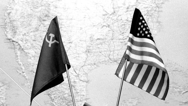 Заставе Сједињених Америчких Држава и Совјетског Савеза - Sputnik Србија