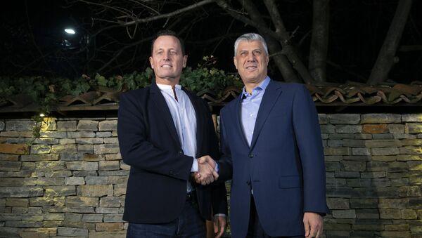 Ričard Grenel i Hašim Tači - Sputnik Srbija