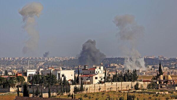 Напад на Хан ел Асал у сиријској провинцији Алеп - Sputnik Србија