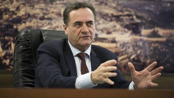 Izraelski ministar spoljnih poslova Izrael Kac  - Sputnik Srbija