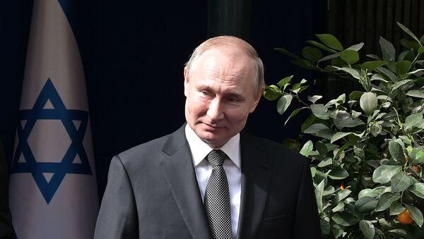 Ruski predsednik Vladimir Putin u Izraelu - Sputnik Srbija