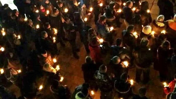 Верници испред Цетињског манастира - Sputnik Србија