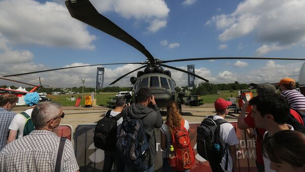 Хеликоптер МИ-8АМТШ-ВН - Sputnik Србија