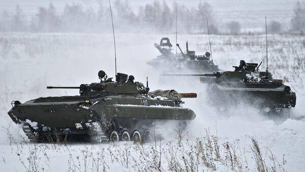 Rusko borbeno vozilo BMP-2 - Sputnik Srbija