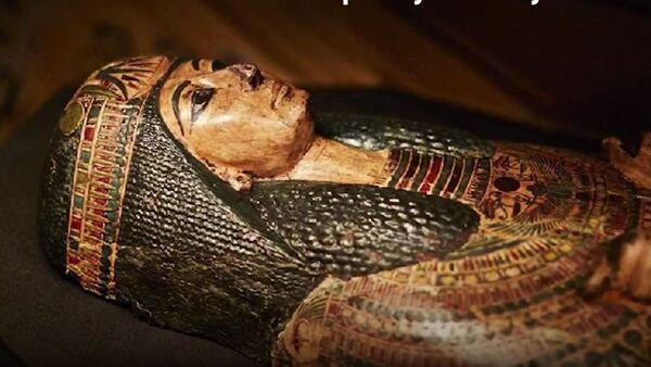 Mumija sveštenika Nesjamuna stara 3.000 godina - Sputnik Srbija
